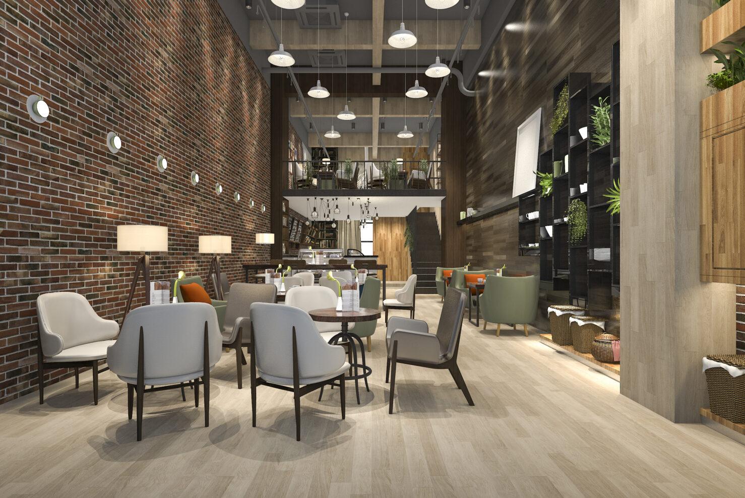Kalfire E-one hotel lobby