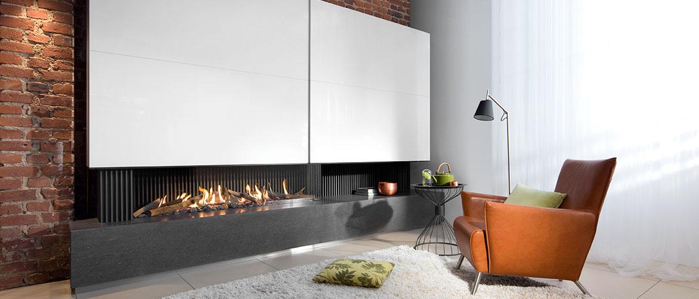 foyers ferm s gaz kalfire. Black Bedroom Furniture Sets. Home Design Ideas